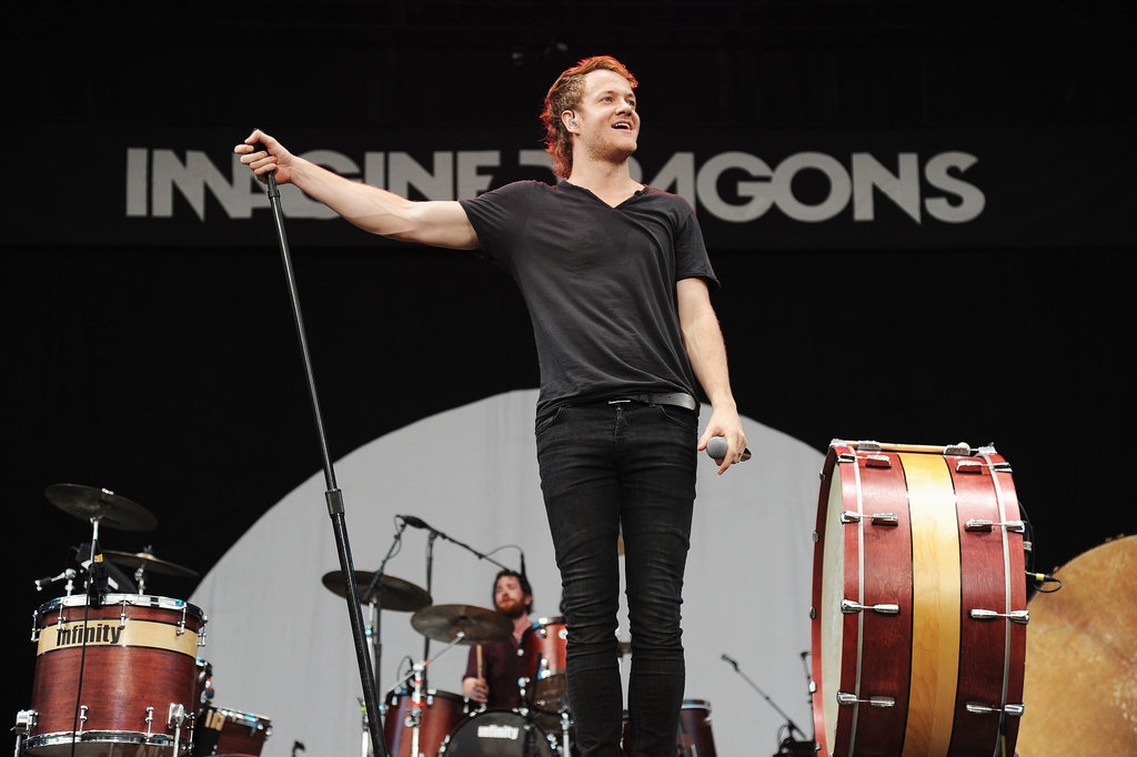 Imagine Dragons hit the stage during the Made in America Festival.