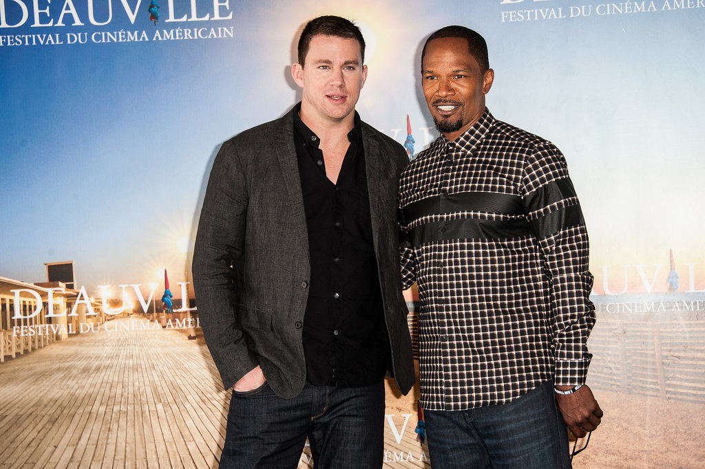 """Channing Tatum and Friends """"Make Waves"""" in France!"""