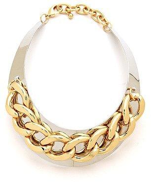 Adia kibur Chain Link Collar Necklace