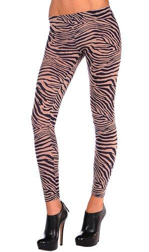 Leggsington Aurora Zebra Print Legging