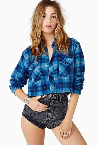 Moody Crop Flannel