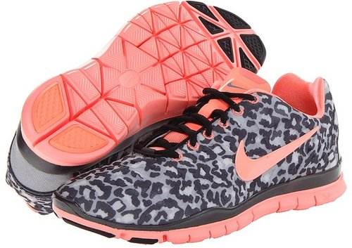Nike - Free TR Fit 3 Print (Stealth/Metallic Hematite/Black/Atomic Pink) - Footwear