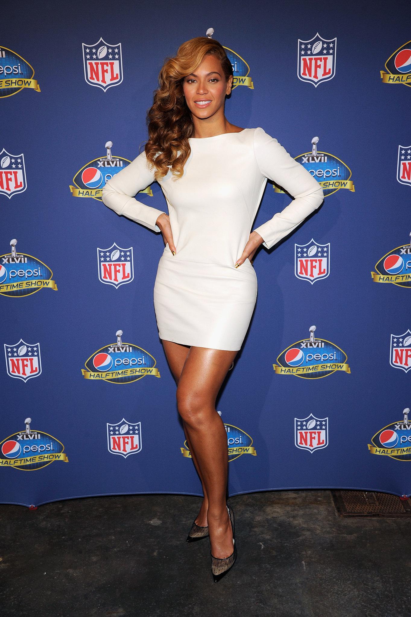 2013, Super Bowl XLVII Halftime Press Conference