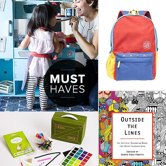 It's time to go back to school, and after stocking up on all of the requisite supplies and new gear, you're probably ready for a hiatus from the stores. Once you've regained your shopping legs (or are at least ready to shop the web), we're here to share the absolute favorite new finds. Here's what's on team POPSUGAR Moms' radar for September — for you, for your kids, for the entire family.