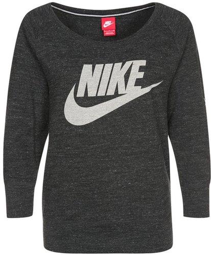 Nike Sportswear GYM VINTAGE Long sleeved top black