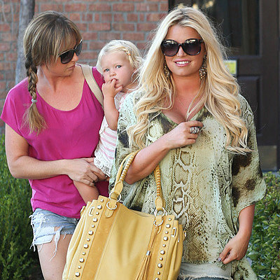 Jessica Simpson Wearing Daisy Dukes With Maxwell Pictures