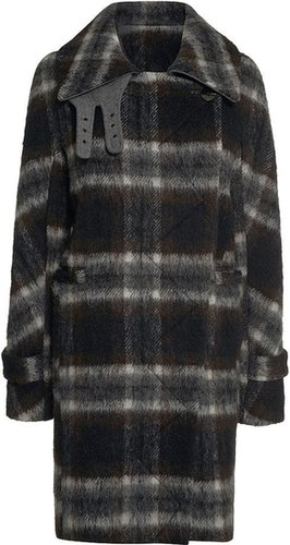 Next Oversized Check Coat
