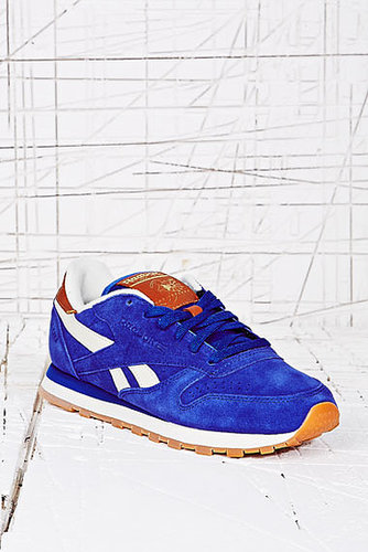 Reebok Classic Leather Trainers in Cobalt