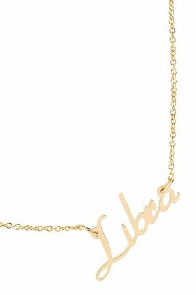 Rebecca Minkoff Libra Zodiac Necklace in Gold