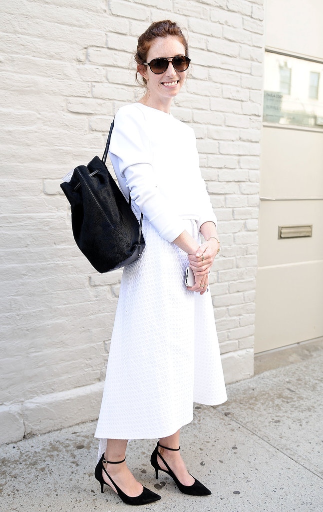 We love the addition of a backpack with a full skirt.