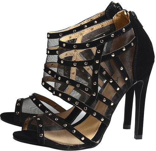 Gladiator Mesh Heels