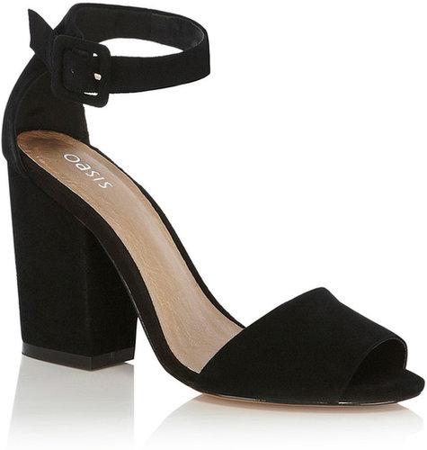 Annie Ankle Strap Block Heel