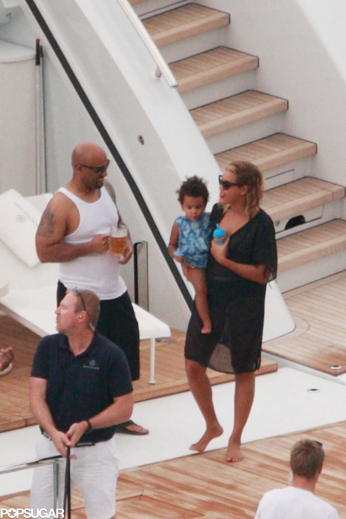 Beyoncé's Birthday Trip Is Filled With Bikinis, Boats, and Blue Ivy