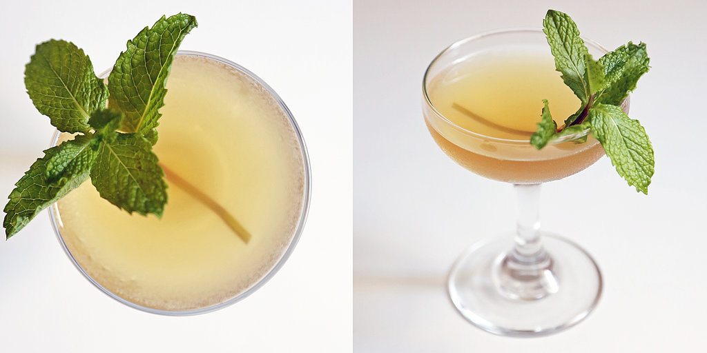 Embrace Summer's Sunset With a Graceful Green Tea Cocktail