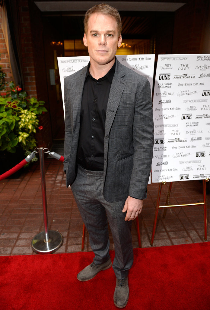 Michael C. Hall was one of the many attendees at the Sony Pictures Classics dinner.
