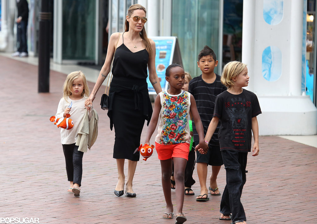 Things Get Fishy For Angelina and Her Family
