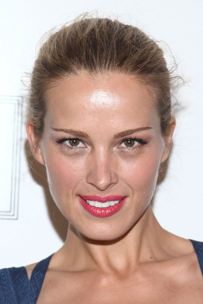 Petra Nemcova at Herve Leger by Max Azria Spring 2014.