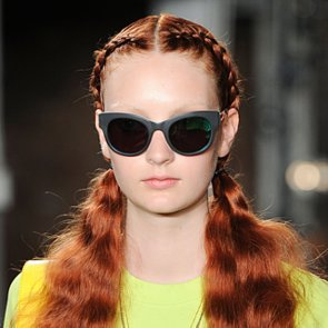 Kenneth Cole Spring 2014 Hair and Makeup | Runway Pictures