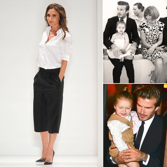 Victoria Beckham Brings Spring to the Runway in Front of Her Smallest Fan