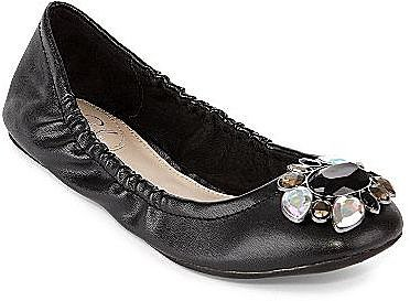 Studio Paolo® Lucky Jeweled Ballet Flats
