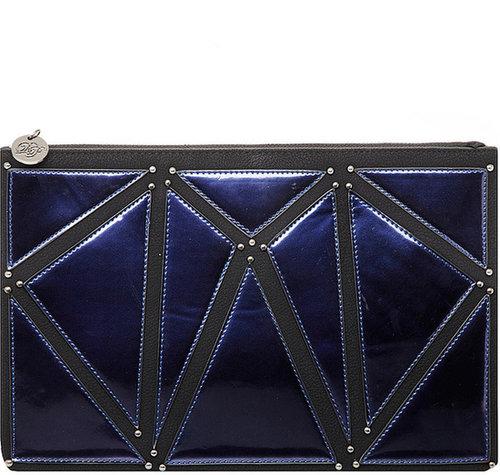 Cobalt portfolio clutch