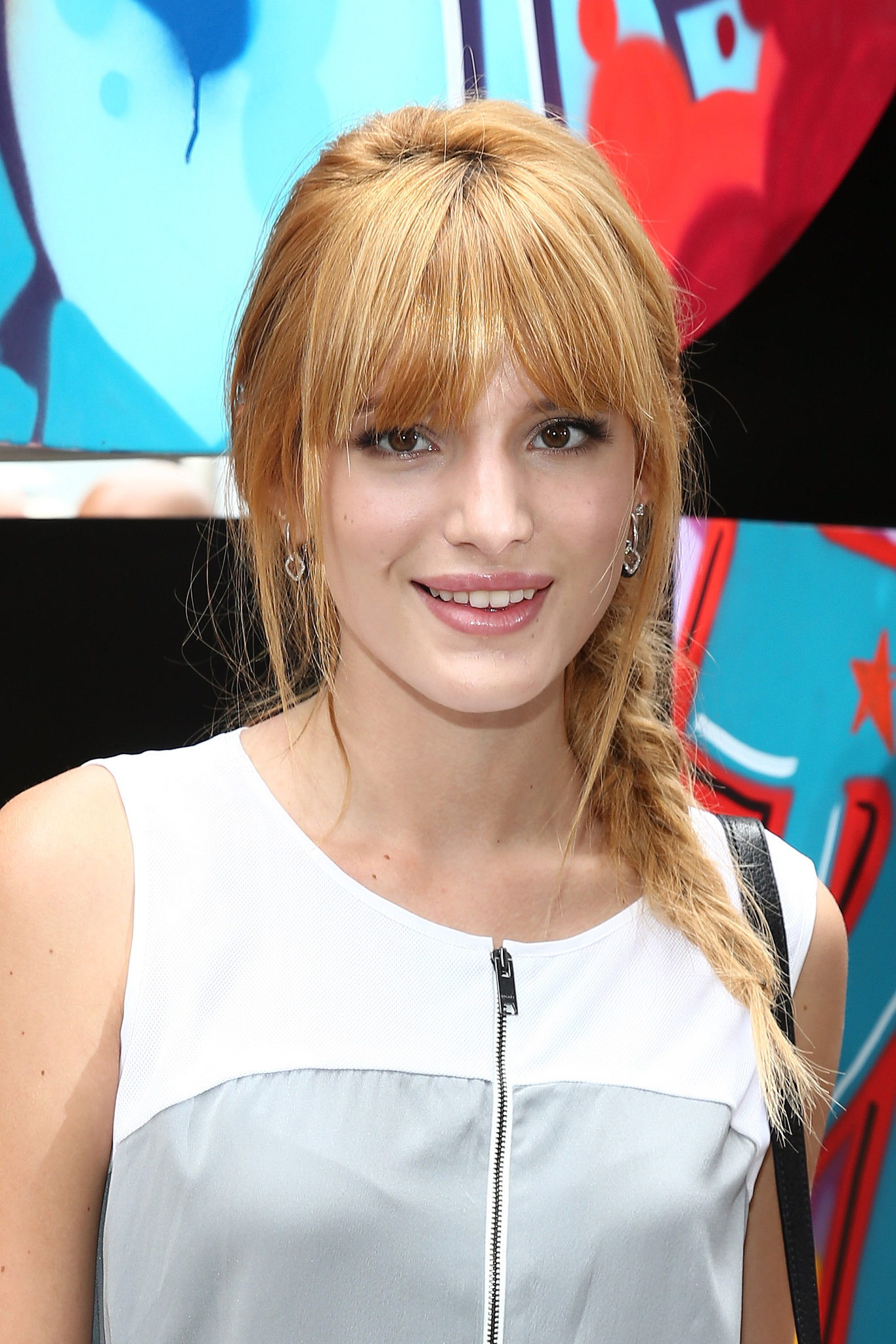 Bella Thorne at DKNY Spring 2014.