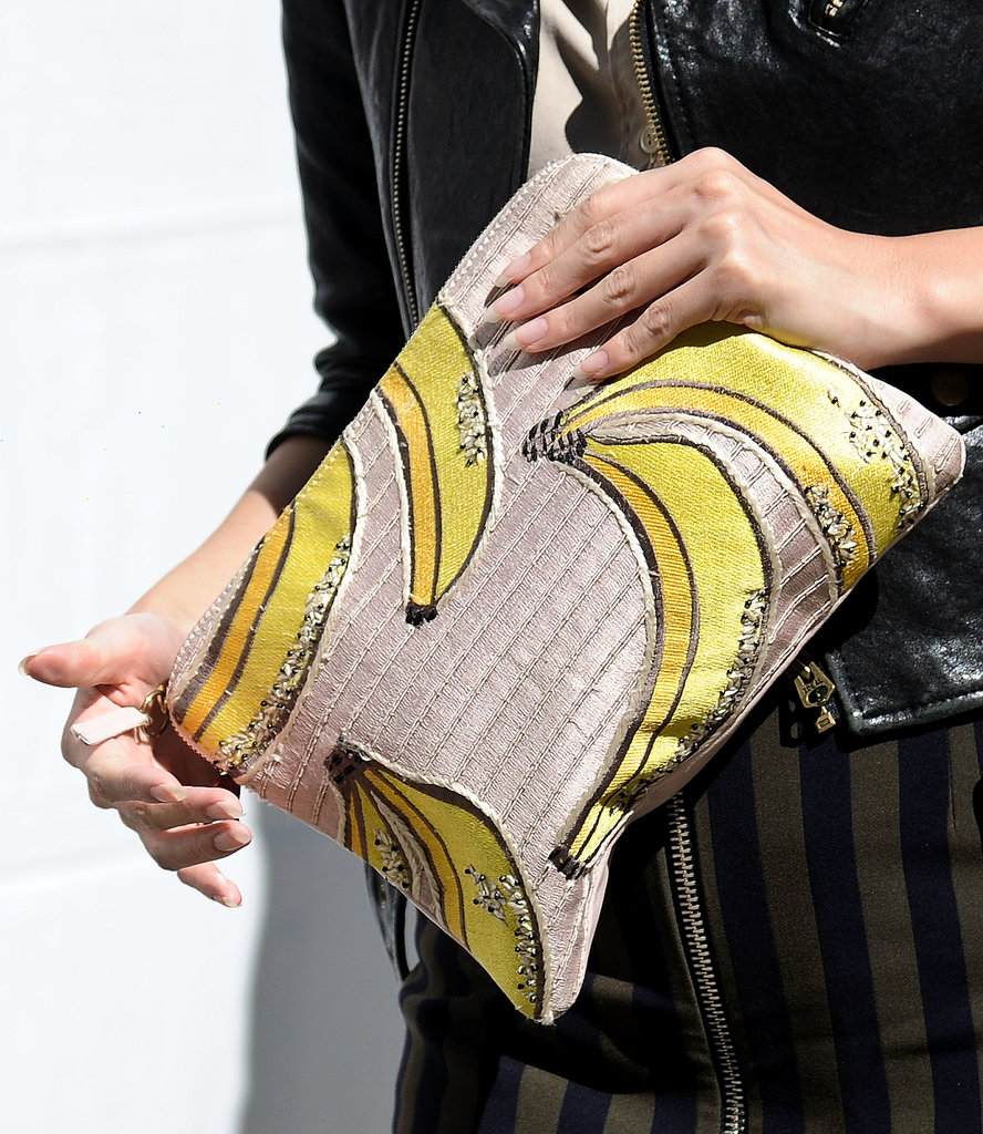 We're totally bananas for this clutch.