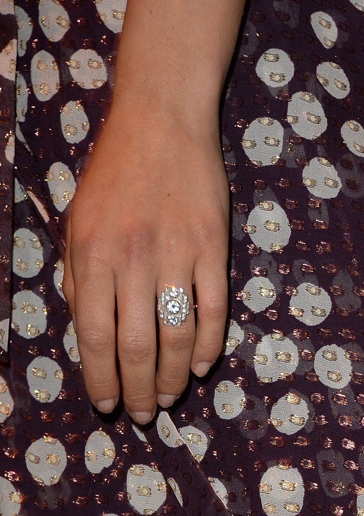 Scarlett Johansson Nearly Blinds Us With Her Huge Engagement Ring