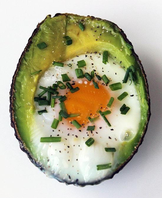 Breakfast: Egg in an Avocado