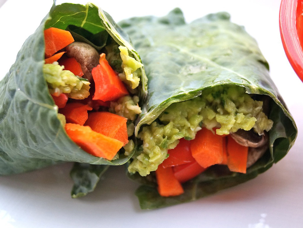 Lunch and Dinner: Guacamole Wraps