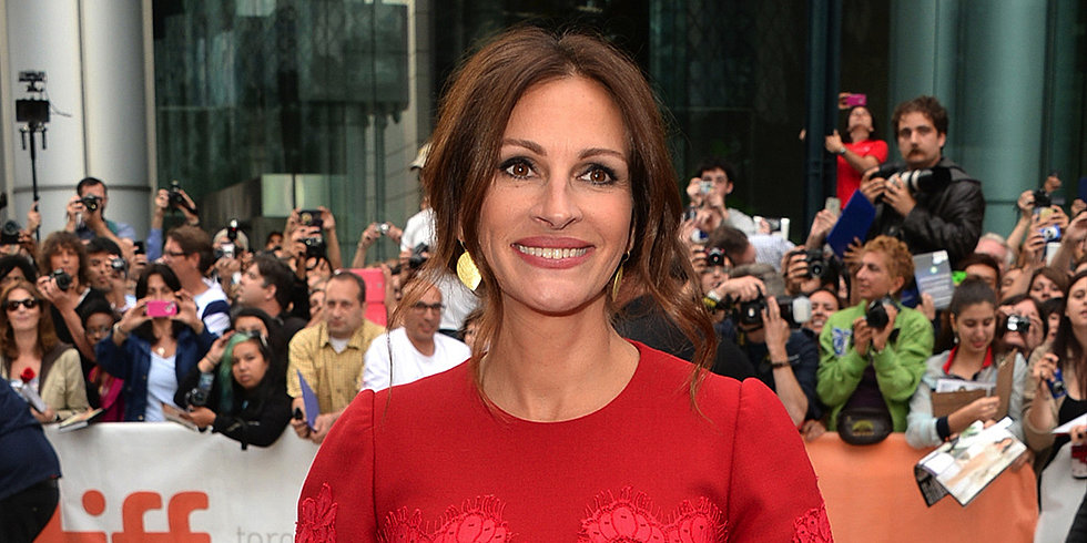Julia Roberts Returns to the Red Carpet — and Gropes a Costar! — at August: Osage County's Premiere