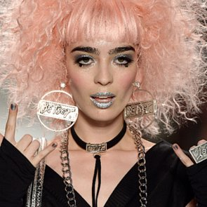 Betsey Johnson Spring 2014 Hair and Makeup | Runway Pictures