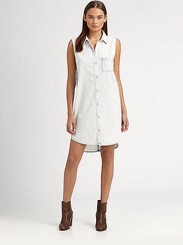 rag & bone/JEAN Norfolk Denim Shirtdress