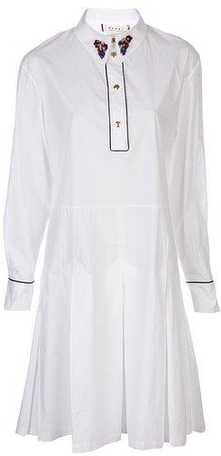 Marni Piped shirtdress