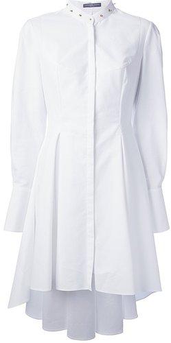 Alexander McQueen studded collar shirt dress