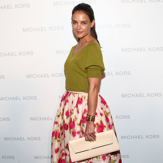 Katie Holmes at the Michael Kors Spring 2014 Runway Show