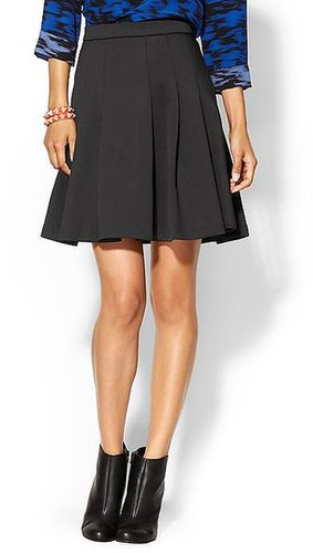Ark & Co. Ponte Pleated Skirt