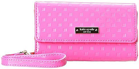 Kate Spade New York - Jewel Street Wristlet for iPhone 5 (Black) - Electronics