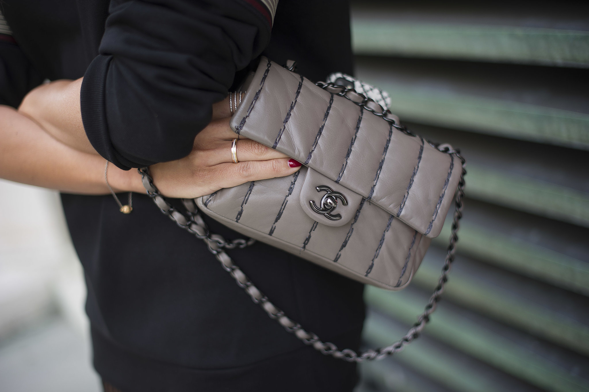 Classic Chanel in a perfect Fall hue.