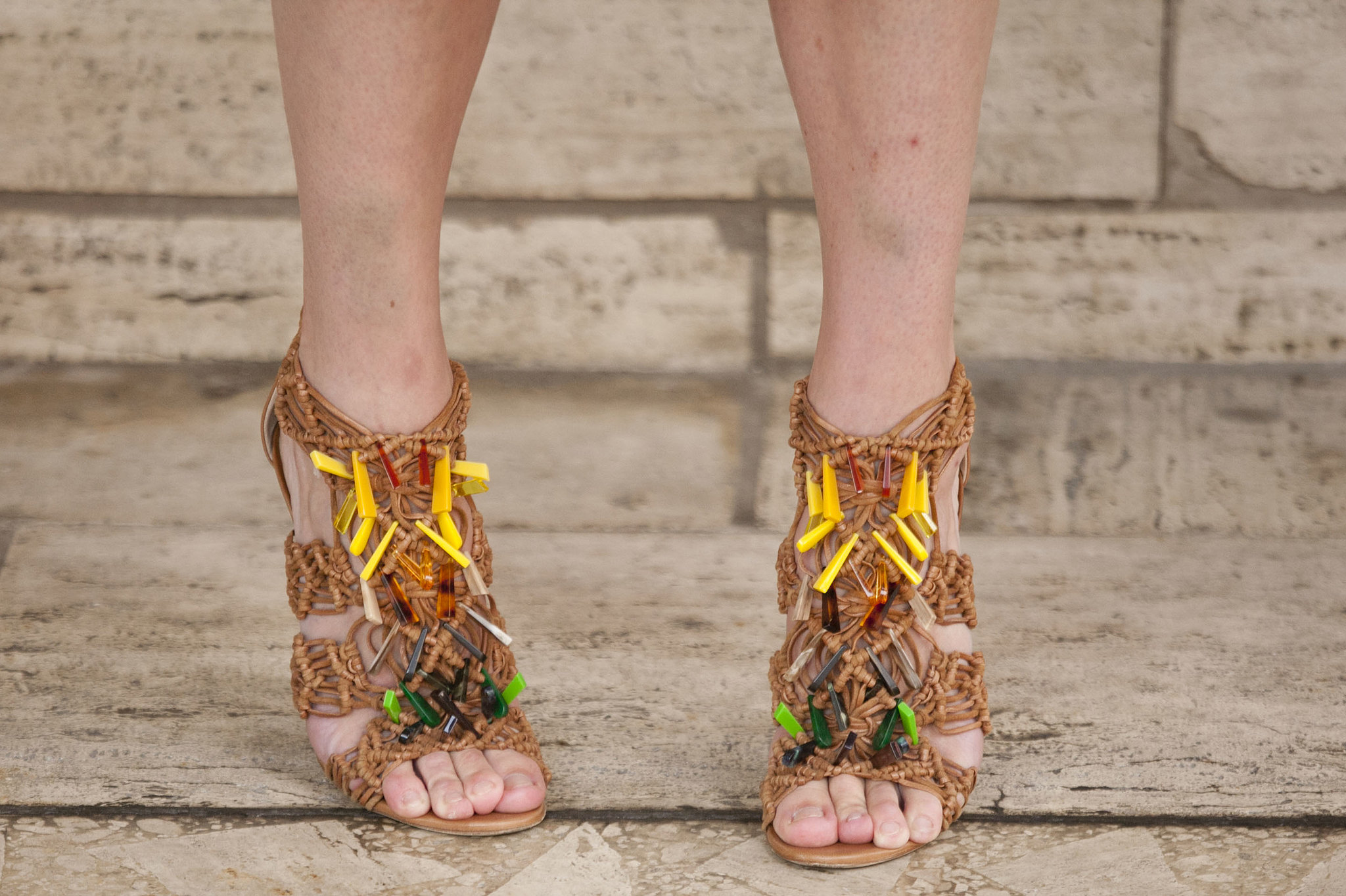"""This is how you say """"fun"""" with your footwear."""