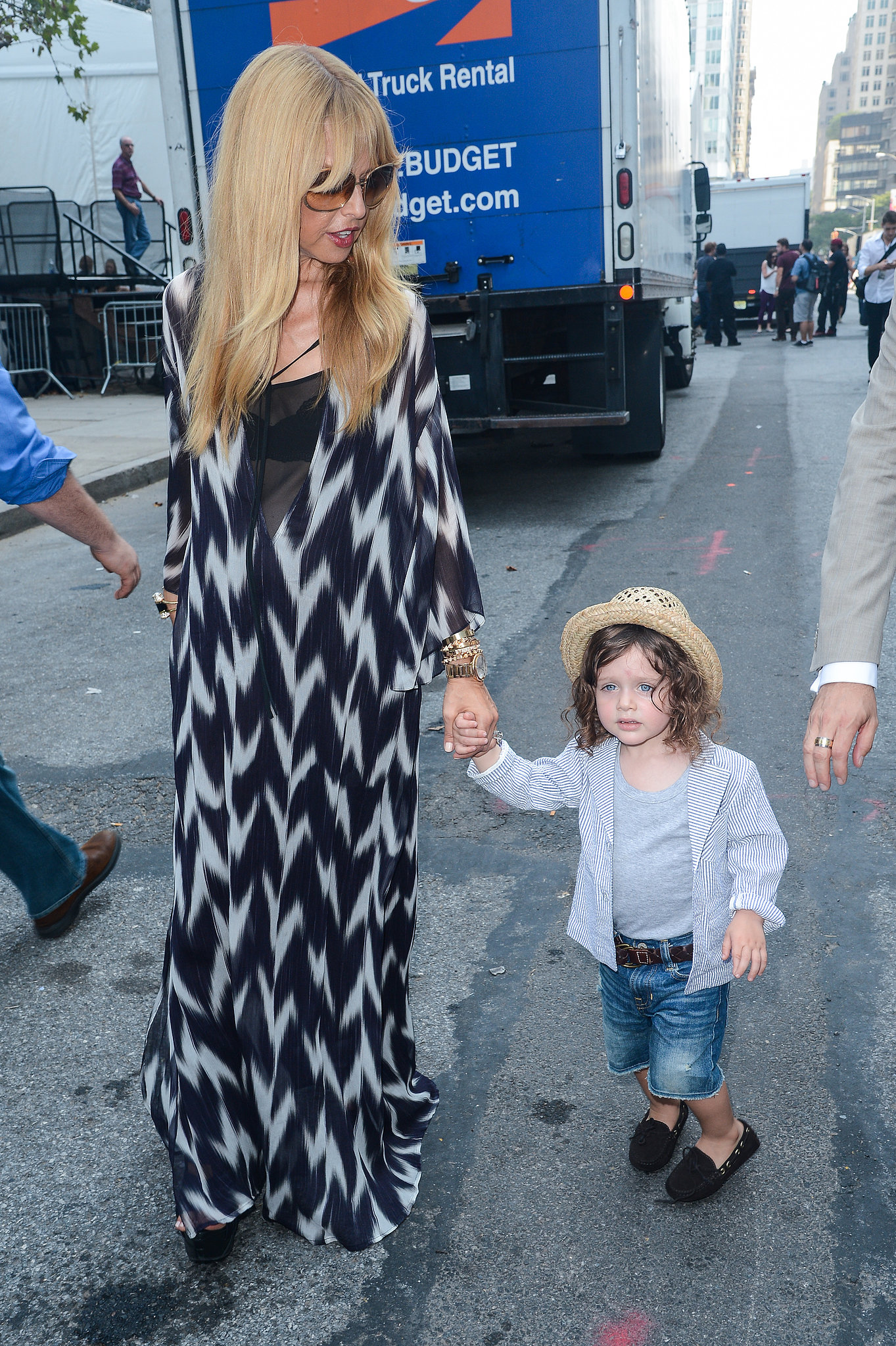 Rachel Zoe's Son, Skyler, May Be the Cutest Star of New York Fashion Week