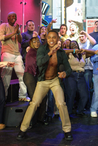 Cuba Gooding Jr. busted a move on TRL in 2002.