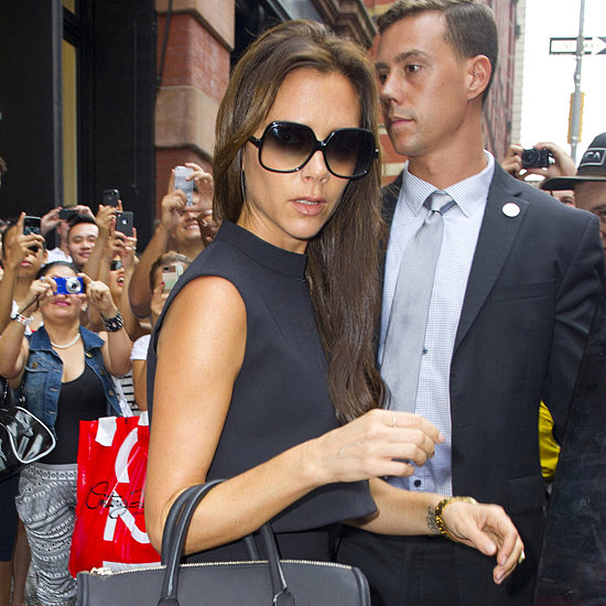 Victoria Beckham Shopping at J.Crew Store in NYC