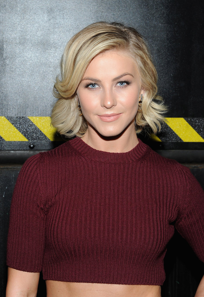 Julianne Hough at Marc Jacobs Spring 2014.