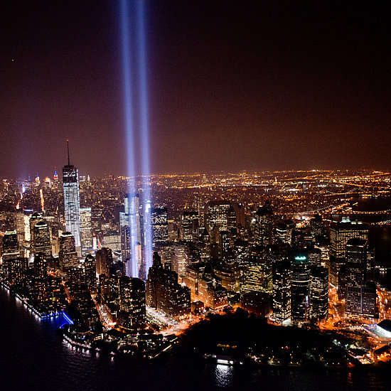 Tribute in Light For 9/11 in 2013 | Pictures