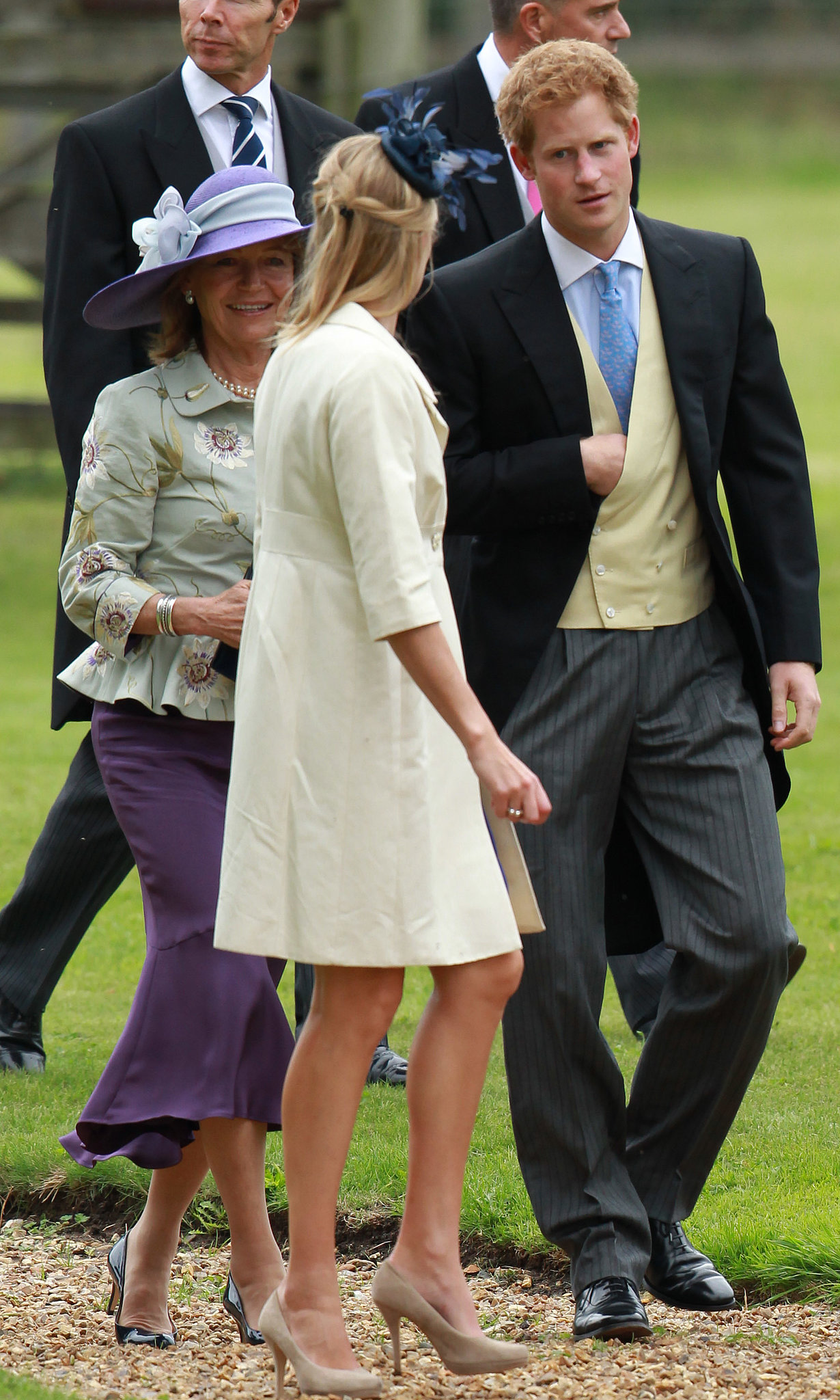 Prince Harry Wore A Suit For A Friend S Wedding In Gayton