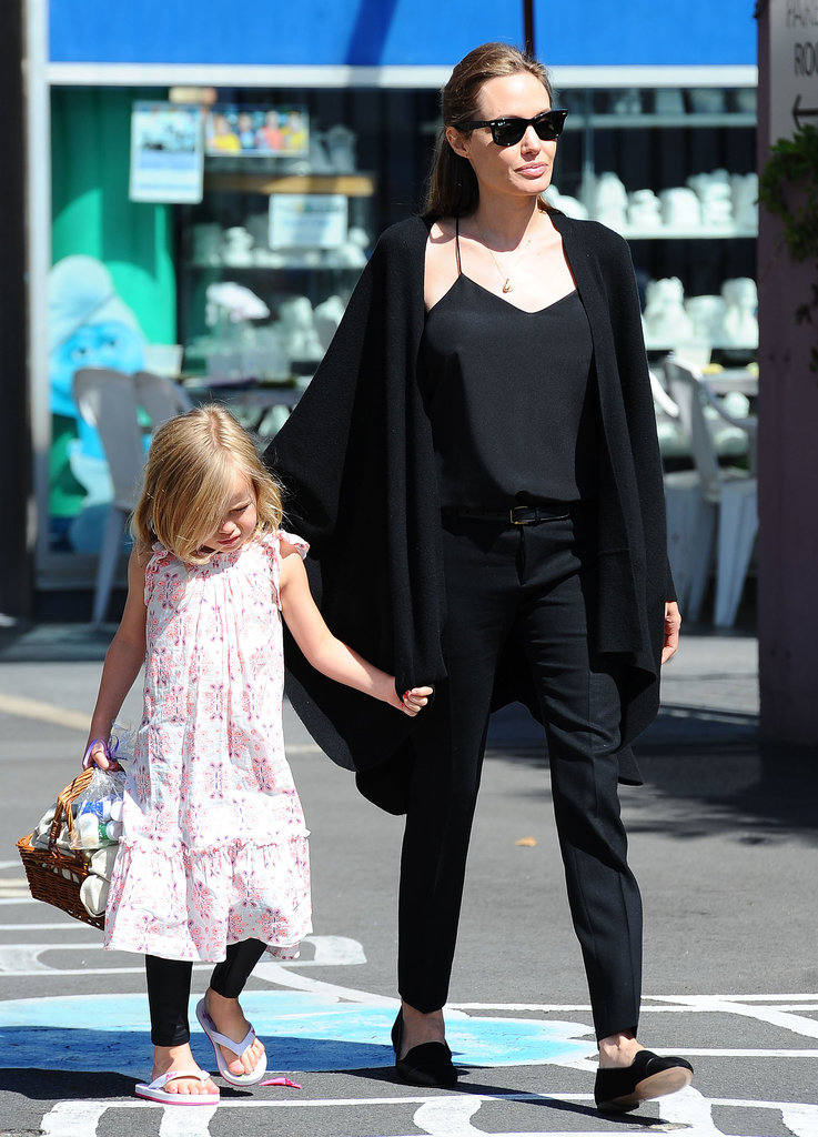 Angelina Jolie took Vivienne out in Sydney.