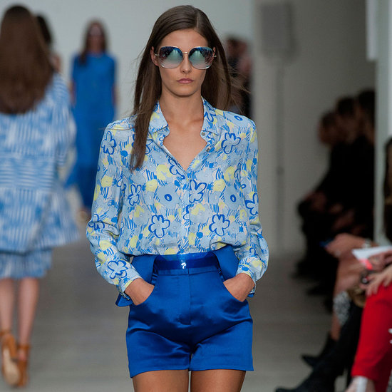 2014 Spring London Fashion Week Runway Matthew Williamson
