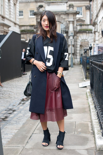 The proof that you can totally wear your jersey (or your boyfriend's) off the field.