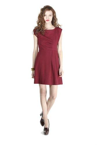 Sophia Ponte Short Sleeve Dress